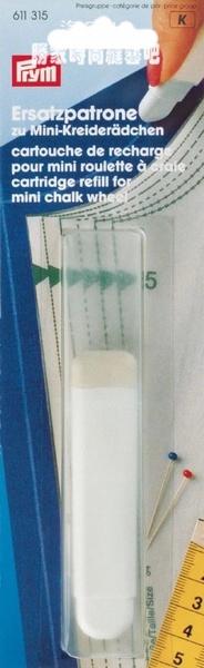611315 Prym Запасной мел белый для 611305Для измерения и маркировки<br><br>