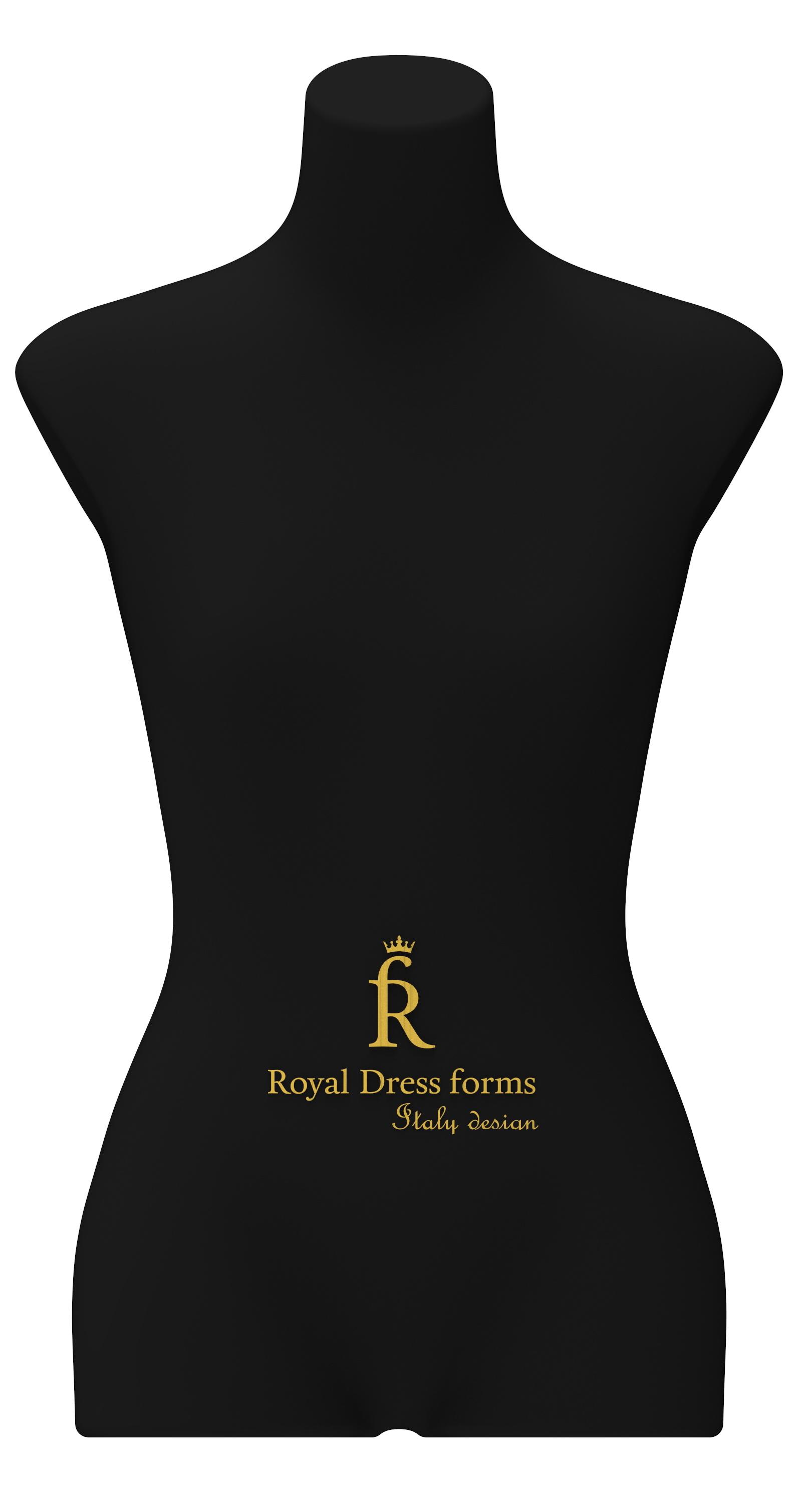 Манекен RDF Christina р. 40 (цв. чёрный)Манекены<br>Манекен Christina 40 размера черный - это профессиональный мягкий портновский манекен. В манекен можно втыкать иголки, булавки под любым углом, на нем можно отпаривать и гладить одежду. Прочен и удобен.<br><br> Подставка не входит в комплект манекена.<br>