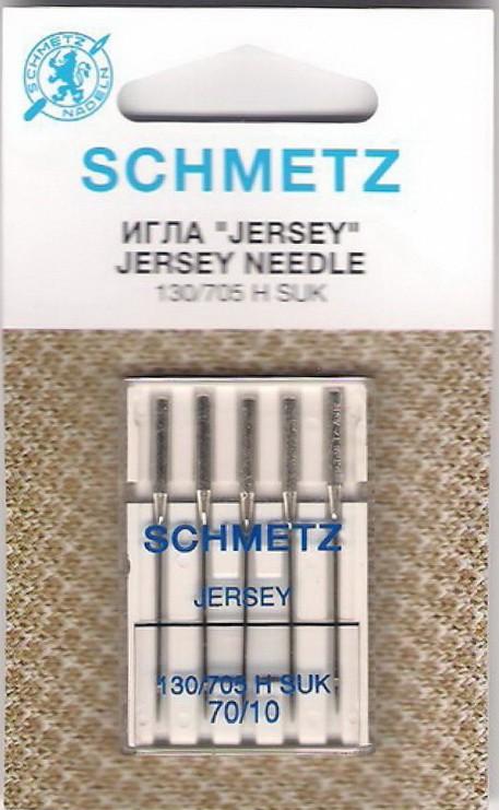 Игла SCHMETZ джерси № 70 (5 шт)Schmetz<br>Игла SCHMETZ джерси № 70 (5 шт)<br>