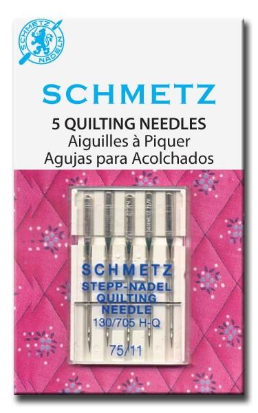 Игла SCHMETZ квилтинг №75 (5 шт)Schmetz<br>Игла SCHMETZ квилтинг №75 (5 шт)<br>