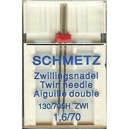 Игла SCHMETZ двойн.70\1,6 (1 шт)Schmetz<br><br>