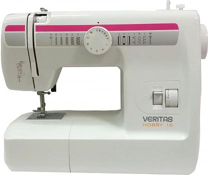 Veritas HOBBY 16Veritas<br>Швейная машина Veritas Hobby 16 - 6 строчек. Петля в полуавтоматическом режиме, вертикальный челнок.<br>