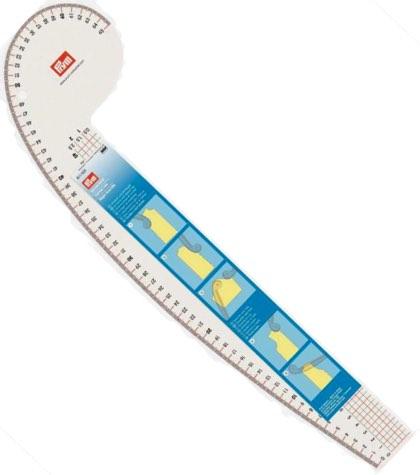 611501 Prym Лекало портновское (160х525мм)Для измерения и маркировки<br><br>