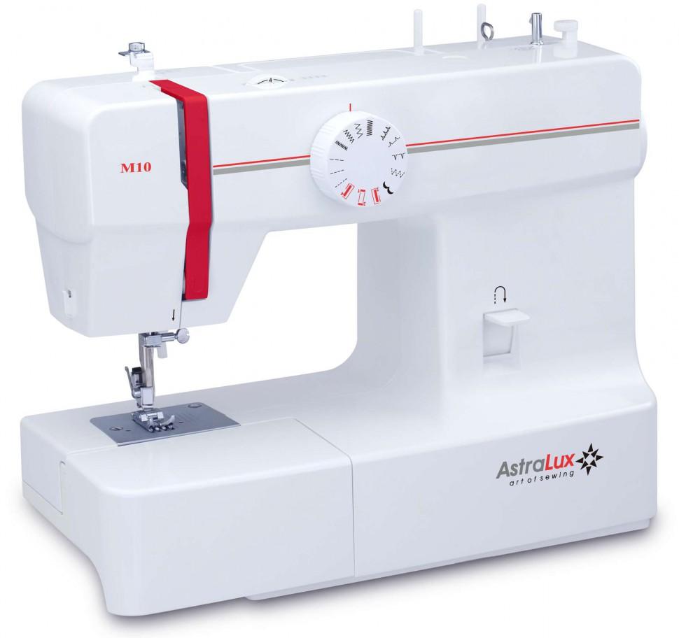 Astralux M10Astralux<br>Швейная машина с вертикальным челноком. 8 операций, петля полуавтомат<br>