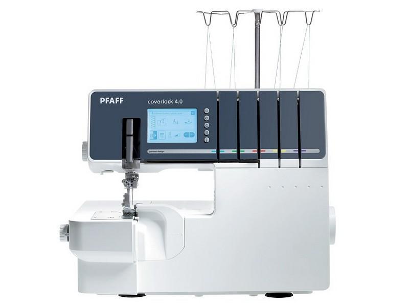 Оверлок PFAFF Coverlock 4.0Оверлоки PFAFF<br>Коверлок PFAFF Coverlock 4.0 - 5 ниточный оверлок + 2-х игольная и 3-х игольная плоскошовная машина. Эта модель выполняет 25 видов программ, имеет дифференциальный транспортер ткани. У PFAFF Coverlock 4.0 облегченная заправка нитей, есть контейнер для сбо...<br>