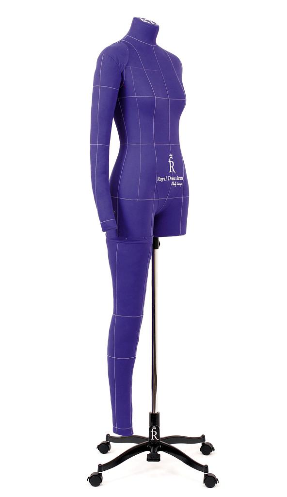 Манекен RDF Monica Art р. 42 (цв. фиолетовый, рука, нога и подставка Милан в комплекте)Одноразмерные<br><br>