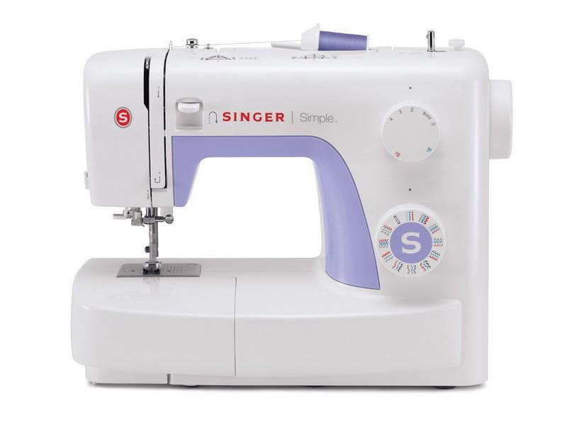 Singer 3232 SimpleSinger<br>32 строчки, петля в автоматическом режиме, в комплекте 4 лапки, чехол мягкий. Челнок - вертикальный.<br>