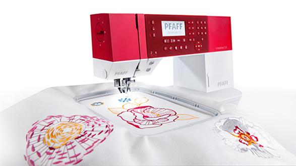 PFAFF Creative 1.5PFAFF<br>Швейно-вышивальная машина PFAFF Creative 1.5 - это новая уникальная модель от немецкого производителя PFAFF. Вы сможете не только шить, но и воплощать в жизнь любые идеи с помощью вышивальных дизайнов. Максимальный размер пялец - 240х150 мм. 100 вышивальн...<br>