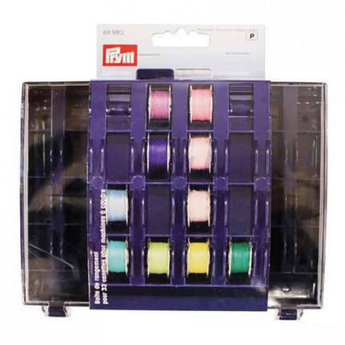 611980 Prym Коробка для 32 шпулекДля швейных машин<br>611980 Prym Коробка для 32 шпулек<br>