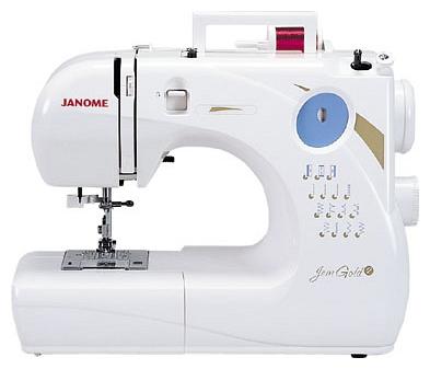 Janome JEM GOLDJanome<br>Швейная машина Janome JEM GOLD<br>