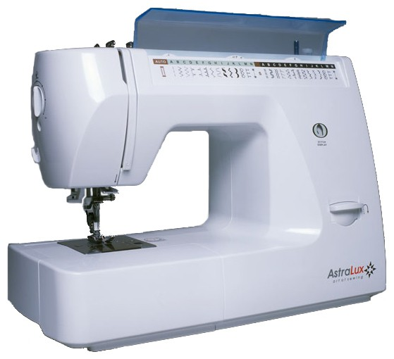 Astralux XP-41Astralux<br>Швейная машина Astralux XP-41 имеет горизонтальный челнок, выполняет 29 строчек, выметывает петлю в автоматическом режиме, а также снабжается нитевдевателем и жестким чехлом.<br>