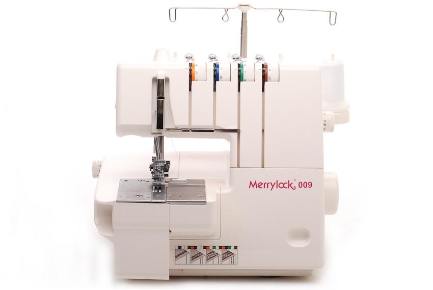 Машина плоскошовная Merrylock 009Merrylock<br>2-х (3-х) игольная плоскошовная машина. Выполняет узкий, широкий плоские швы. Имеет дифференциал. Скорость шитья до 1000 ст./мин.<br>