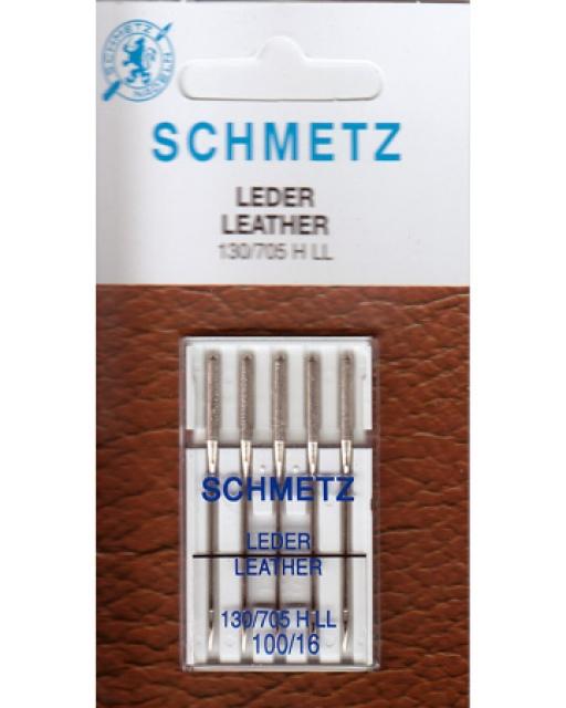 Игла SCHMETZ кожа № 100 (5 шт)Schmetz<br>Игла SCHMETZ кожа № 100 (5 шт)<br>