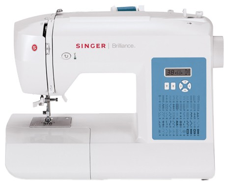 Singer 6160 BrillianceSinger<br>60 строчек, 4 петли в автоматическом режиме, в комплекте 4 лапки, чехол мягкий. Челнок - вертикальный.<br>