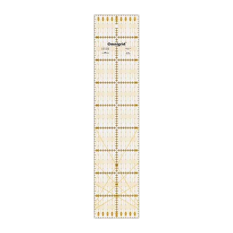 611318 Prym Линейка универсальная для печворка 10*45 см (угол)Для измерения и маркировки<br>611318 Prym Линейка универсальная для печворка 10*45 см (угол)<br>