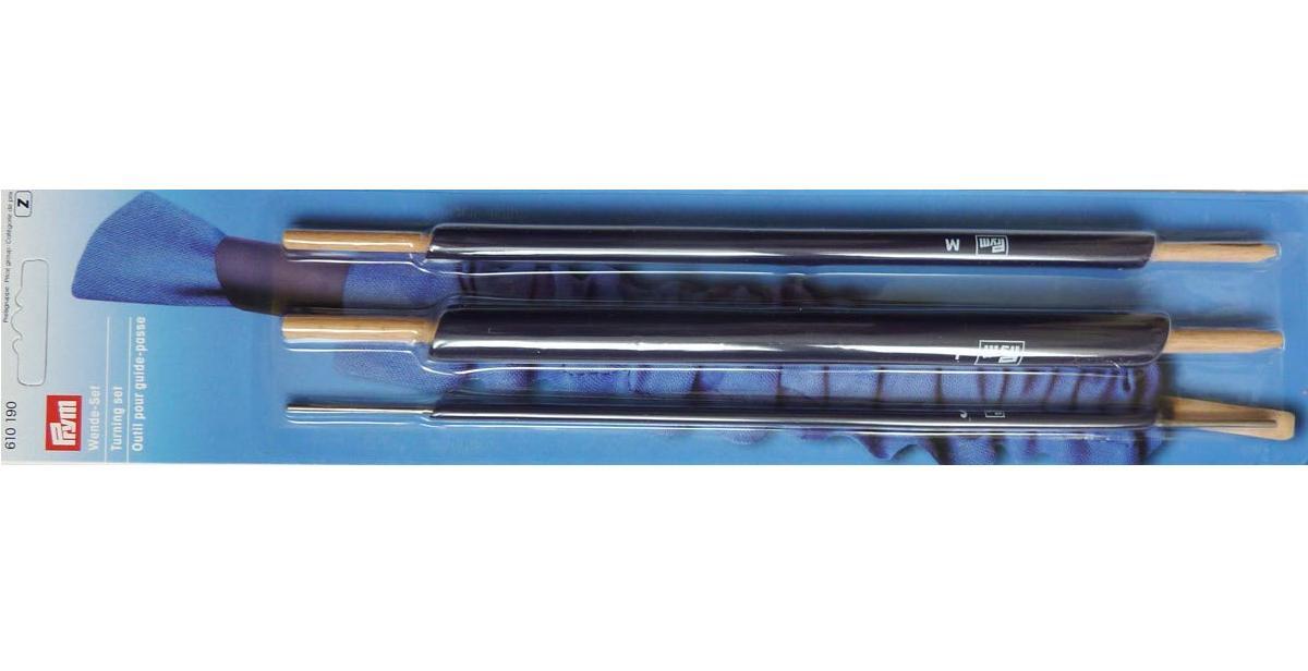 610190 Prym Набор для выворачивания бретелей, шлёвок и пр.деталей (3шт)Для шитья, пэчворка<br>610190 Prym Набор для выворачивания бретелей, шлёвок и пр.деталей (3шт)<br>