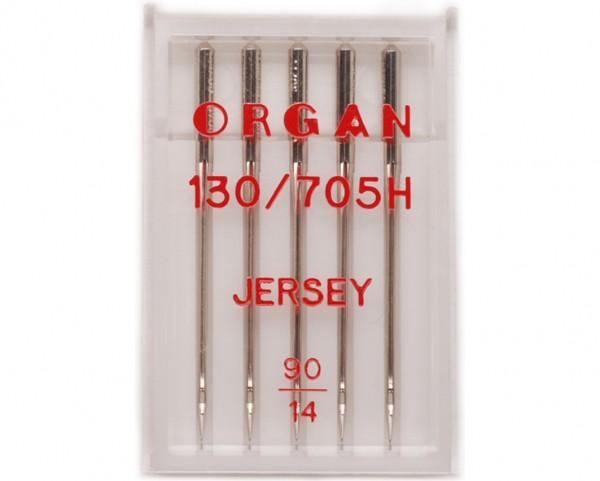 Иглы Organ джерси №90 (5шт.)Organ<br>Иглы Organ джерси №90 (5шт.)<br>