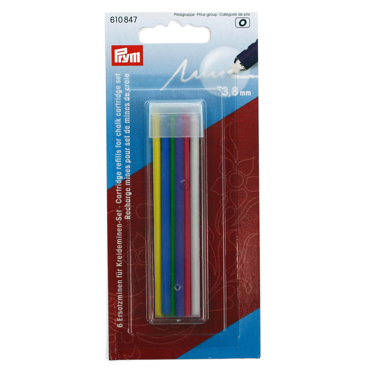 610847 Prym Запасные стержни для набора 610846 (6шт)Для измерения и маркировки<br><br>
