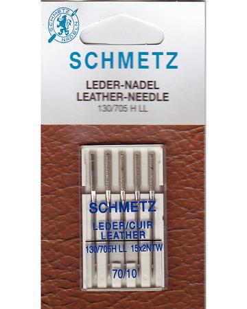 Игла SCHMETZ кожа № 70 (5 шт)Schmetz<br>Игла SCHMETZ кожа № 70 (5 шт)<br>