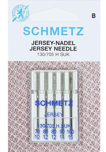 Игла SCHMETZ джерси № 70-90(5 шт)Schmetz<br>Игла SCHMETZ джерси № 70-90(5 шт)<br>