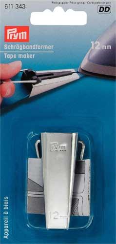 611343 Prym Устройство для косой бейки 12 ммДля шитья, пэчворка<br><br>
