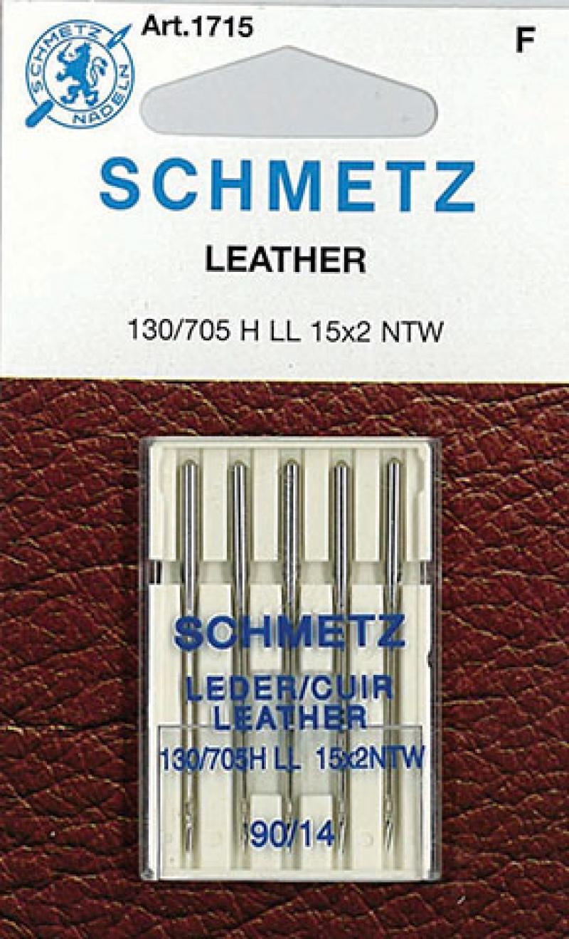 Игла SCHMETZ кожа № 90 (5 шт)Schmetz<br>Игла SCHMETZ кожа № 90 (5 шт)<br>