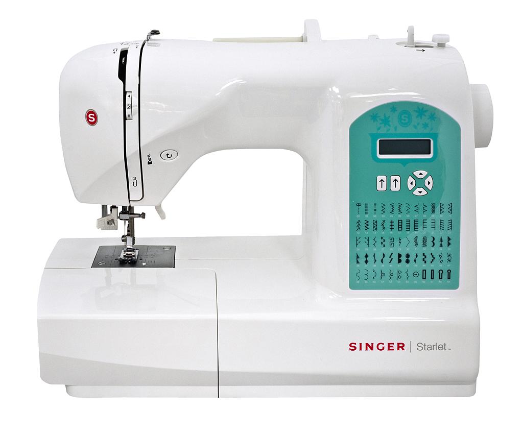 Singer 6660 StarletSinger<br>Швейная машина Singer Starlet - 6660. Электронная швейная машина Singer 6660 - вертикальный челнок, 60 операций. 4 вида петель в автоматическом режиме. 3 лапки в комплекте.<br>