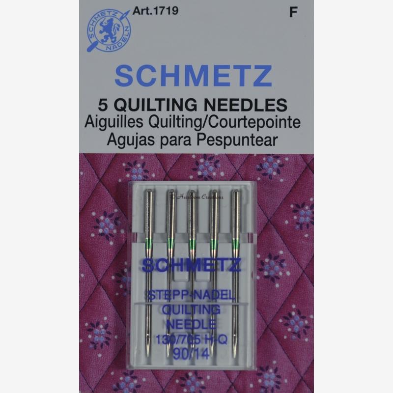 Игла SCHMETZ квилтинг №90 (5 шт)Schmetz<br>Игла SCHMETZ квилтинг №90 (5 шт)<br>