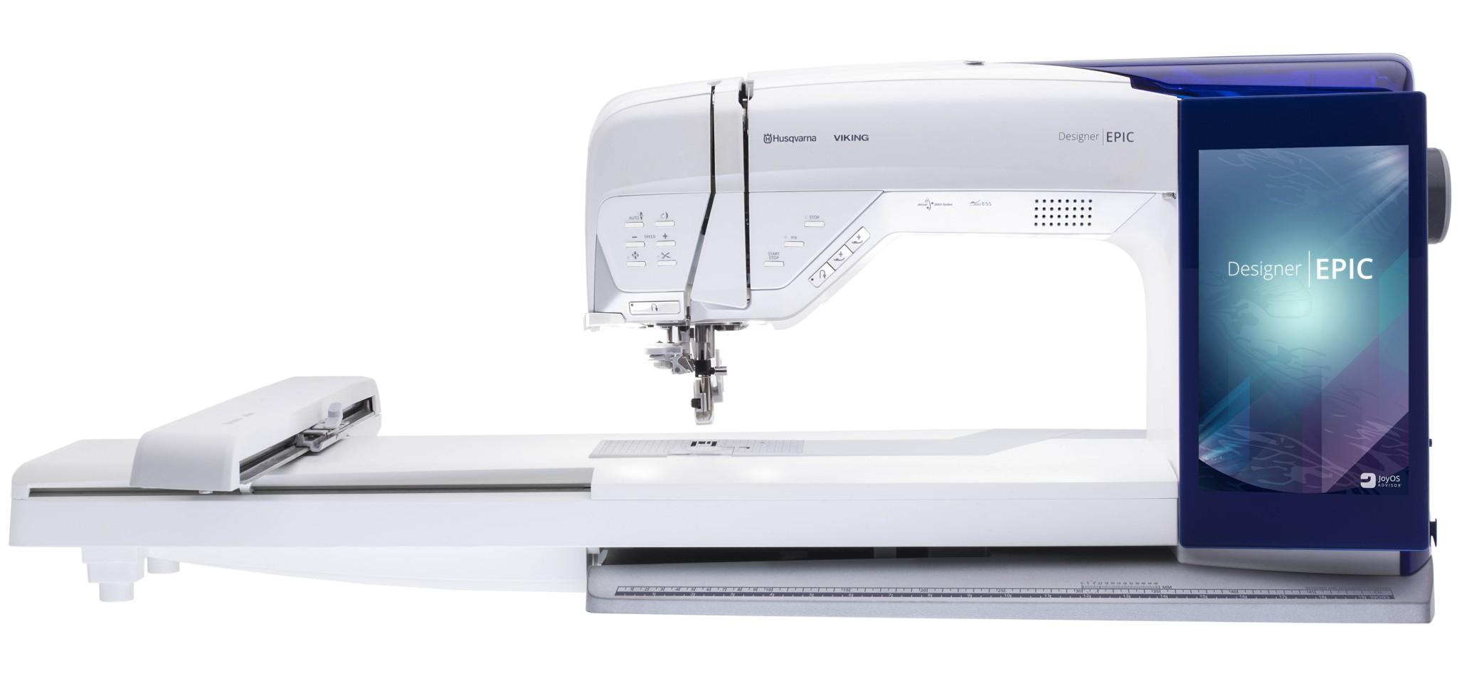 Husqvarna DESIGNER EPICHusqvarna<br>Husqvarna Designer Epic - это самая современная швейно-вышивальная машина в мире! Ее безграничными возможностями крайне легко управлять с помощью огромного дисплея, который больше напоминает планшет размером 10 дюймов и разрешением 1280х800. Все Ваши швей...<br>