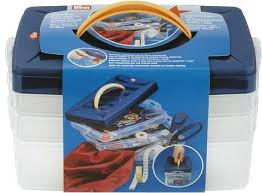 612403 Prym Пластиковый контейнер 24*16,5*14 смДля шитья, пэчворка<br>612403 Prym Пластиковый контейнер 24*16,5*14 см<br>