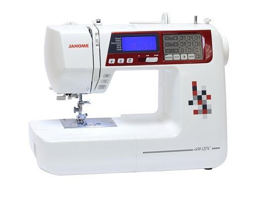 Janome 608 QDCJanome<br>Janome 608 - электронная швейная машина, выполняющая 92 строчки. 7 видов петель в автоматическом режиме. Латинский и русский алфавиты. Имеет плавную регулировку скорости, беспедальное шитье, автоматическую обрезку нижней нити. Комплектация включает 8 ...<br>