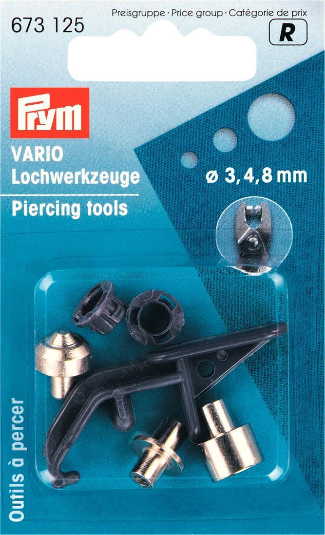 673125 Prym Доп.устр-ва для перфоратора  VARIO 3.4.8 ммДля одежды<br>673125 Prym Доп.устр-ва для перфоратора  VARIO 3.4.8 мм<br>