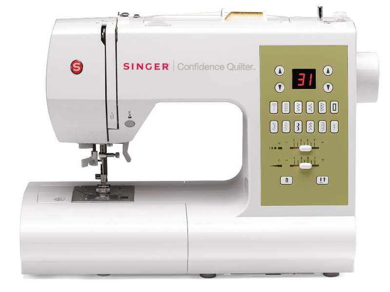 Singer 7469 ConfidenceSinger<br>98 строчек, 6 петель в автоматическом режиме, в комплекте 4 лапки, чехол мягкий. Челнок - горизонтальный.<br>