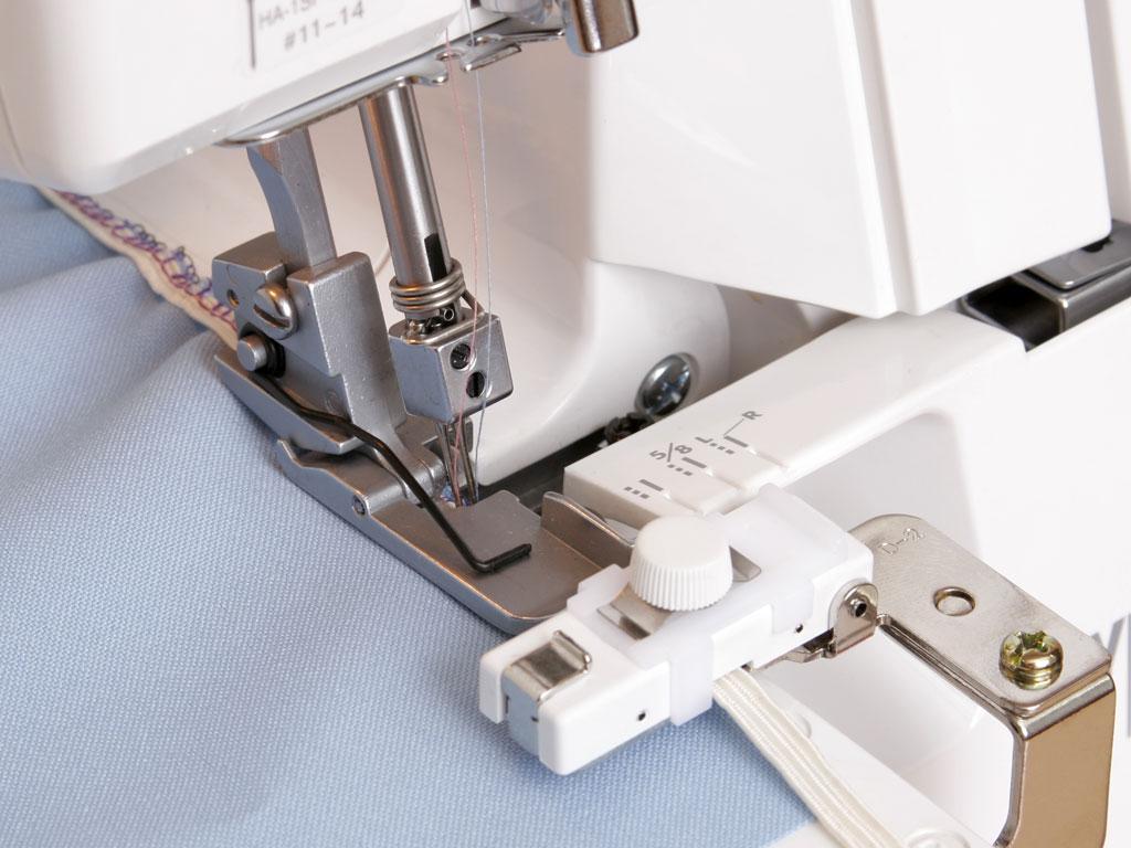 795816105 Приспособление для пришивания тесьмы (6-8,5 мм) к J CPII, F 8000Лапки к Janome Cover Pro 2<br>795816105 Приспособление для пришивания тесьмы (6-8,5 мм) к J CPII, F 8000<br>