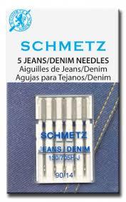Игла SCHMETZ джинс № 90 (5 шт)Schmetz<br>Игла SCHMETZ джинс № 90 (5 шт)<br>