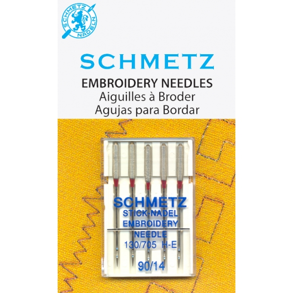 Игла SCHMETZ вышивальные № 90 ( 5 шт )Schmetz<br><br>