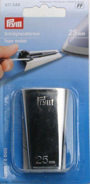 611344 Prym Устройство для косой бейки 25 ммДля шитья, пэчворка<br>611344 Prym Устройство для косой бейки 25 мм<br>