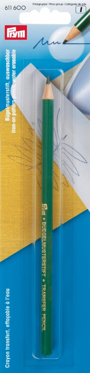611600 Prym Термопереводной карандаш, смываемый водой, фиолетовый, в блистереДля измерения и маркировки<br><br>