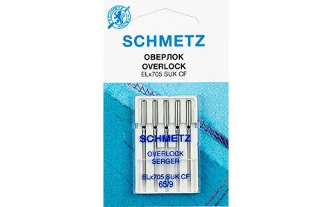 Иглы SCHMETZ для оверлоков (хромированные) №80 (5шт.)Schmetz<br><br>