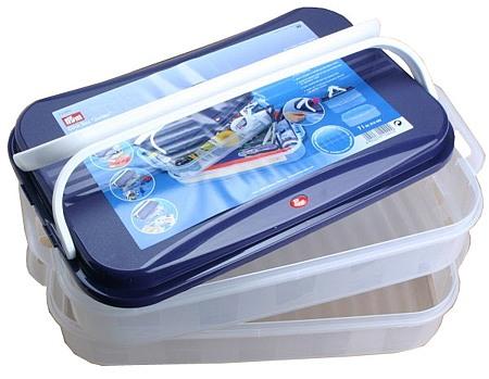 612420 Prym Пластиковая коробка JUMBO для шв. принадлежностейДля шитья, пэчворка<br>612420 Prym Пластиковая коробка JUMBO для шв. принадлежностей<br>