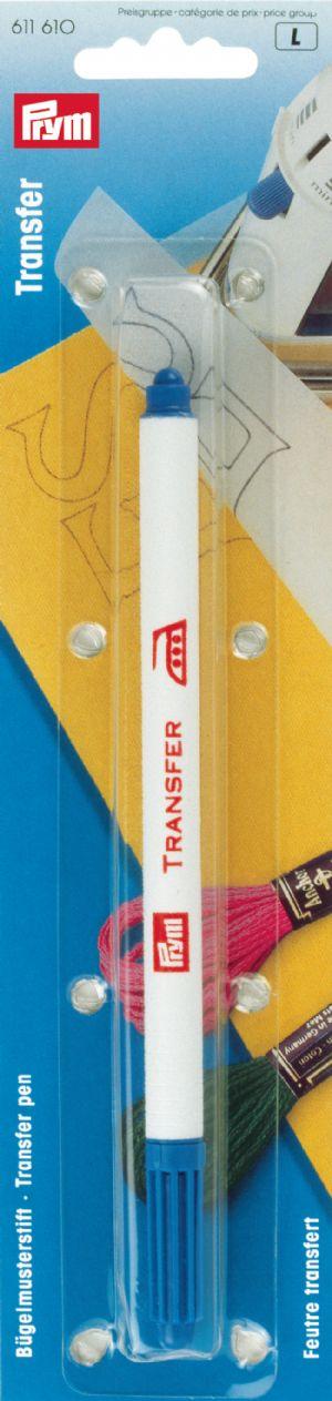 611610 Prym Термопереводной фломастер, смываемый водой, синий, в блистереДля измерения и маркировки<br>611610 Prym Термопереводной фломастер, смываемый водой, синий, в блистере<br>