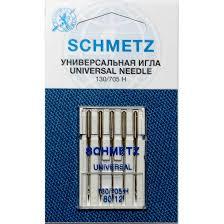 Игла SCHMETZ универ.№ 80 (5 шт)Schmetz<br>Игла SCHMETZ универ.№ 80 (5 шт)<br>