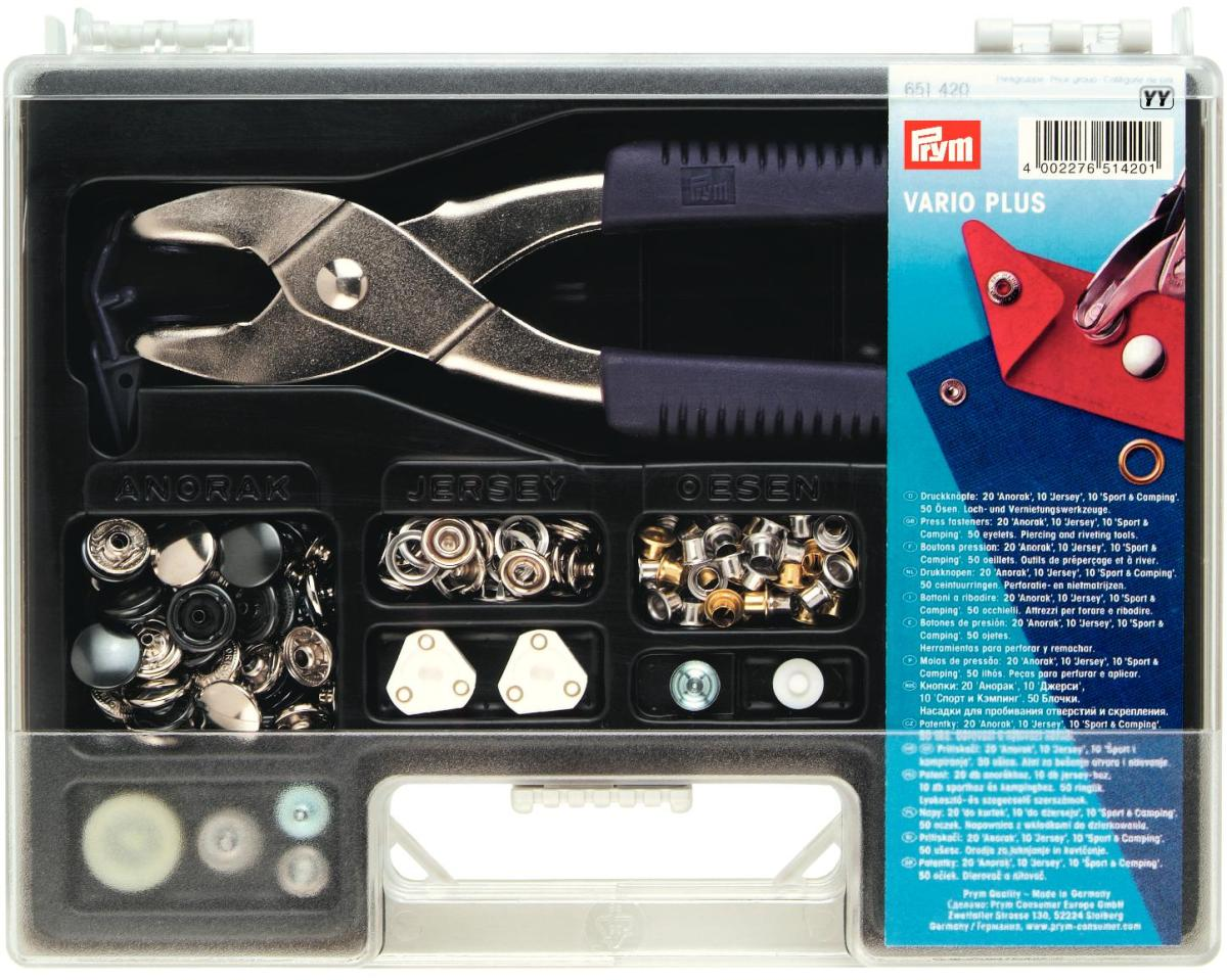 651420 Prym Перфоратор  VARIO-plus (набор)Для одежды<br>651420 Prym Перфоратор  VARIO-plus (набор)<br>