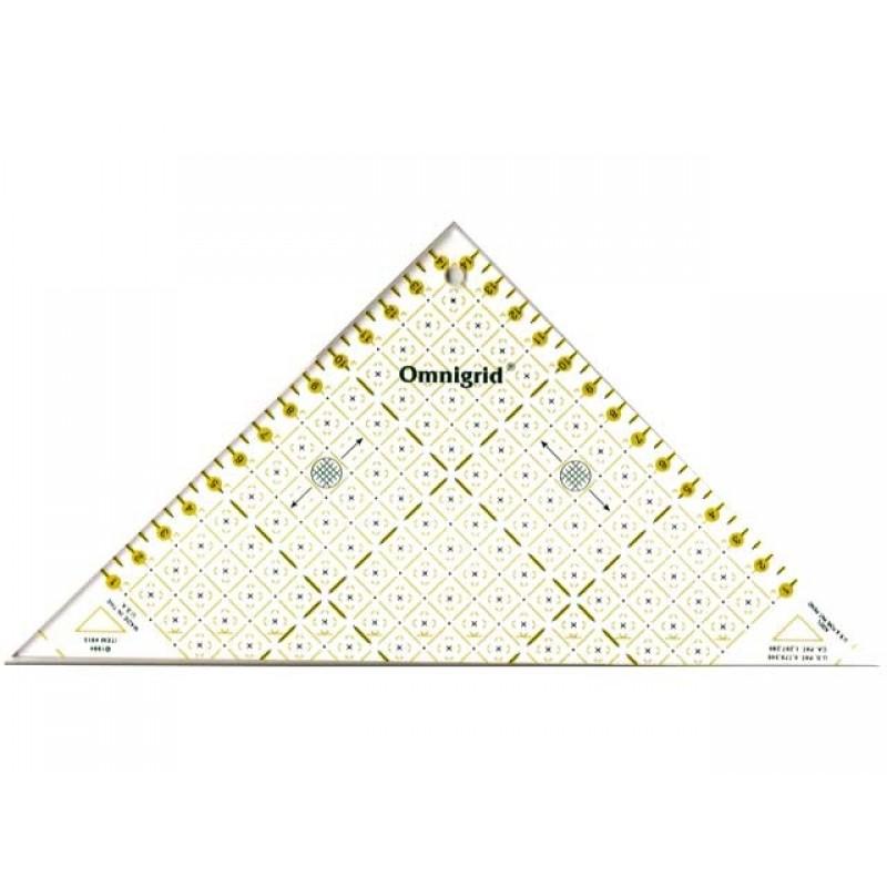 611314 Prym Треугольник для печворка (1/2 квадрата до 15 см)Для измерения и маркировки<br>611314 Prym Треугольник для печворка (1/2 квадрата до 15 см)<br>