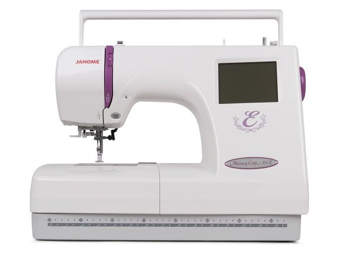 Janome MC 350EJanome<br>Вышивальная машина Janome MC 350E специально создана для выполнения функции вышивки. Janome Memory Craft 350 обладает полем вышивки 200х140. Дизайны заносятся в машину с помощью обычной USB-карточки, либо с помощью ATA Card.<br>