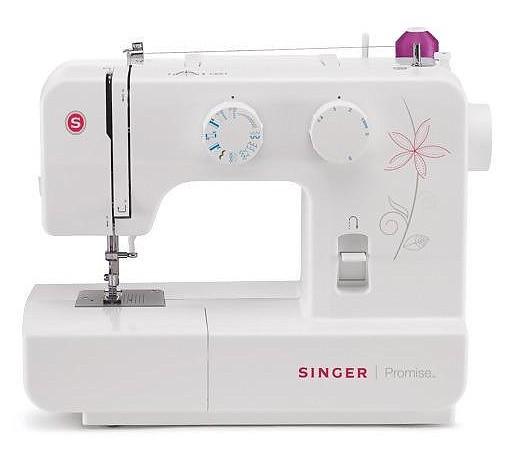 Singer 1412 PromiseSinger<br>Швейная машина  Singer 1412 имеет вертикальное челночное устройство, выполняет 12 строчек. В комплекте имеет 4 лапки. Отличается современным дизайном, возможностью плавной регулировки ширины, длины стежка.<br>