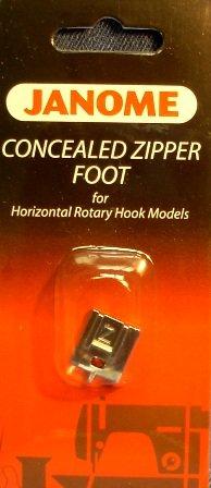 200333001 Лапка для потайной молнииГоризонтальный челнок<br>200333001 Лапка для потайной молнии<br>