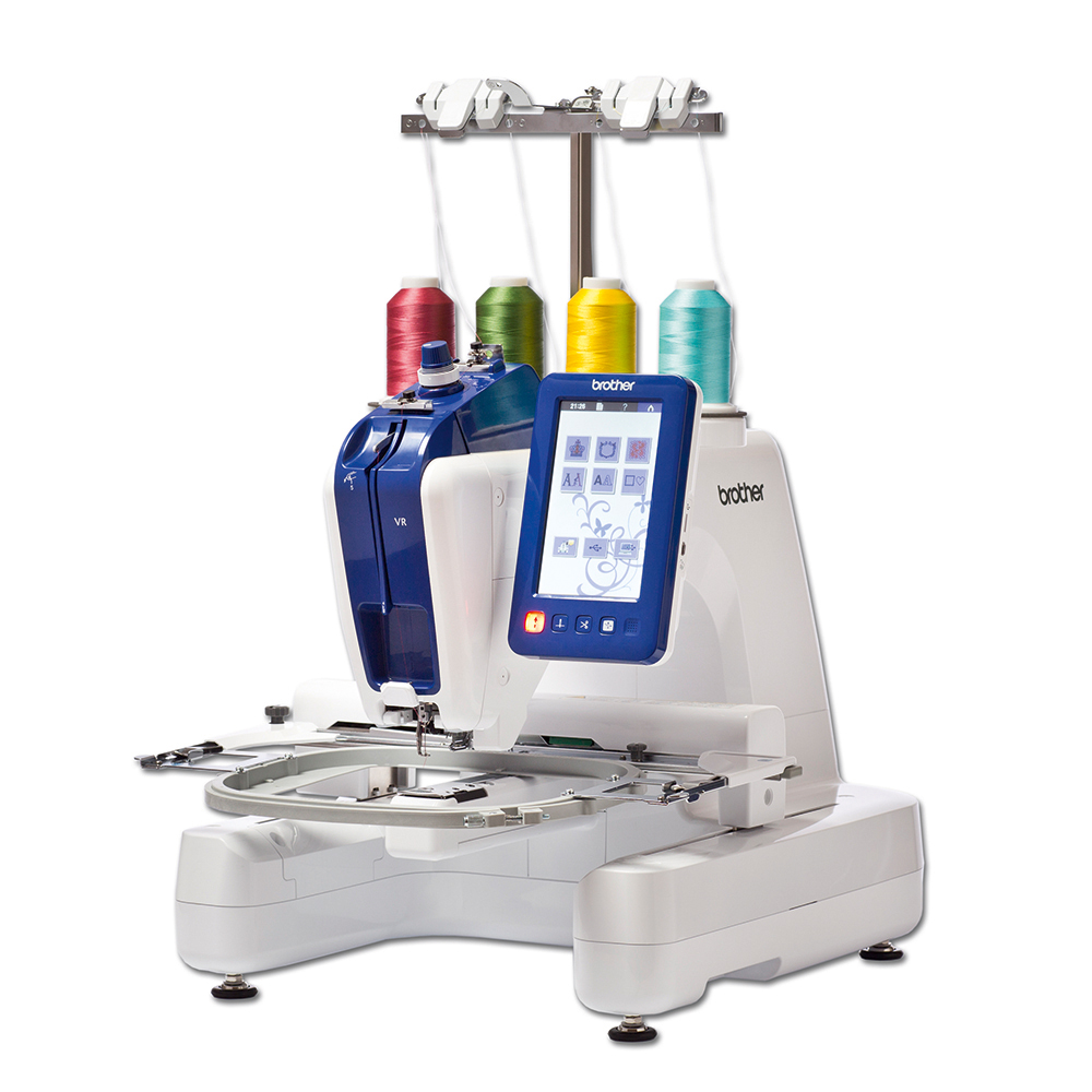 Вышивальная машина Brother VRBrother<br>Вышивальная машина Brother VR. Одноигольная вышивальная машина с цилиндрической платформой и возможностью использования профессиональных рам для вышивания.<br>