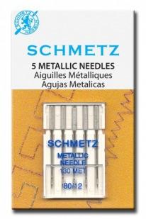 Игла SCHMETZ для ниток металлик № 80 (5 шт)Schmetz<br><br>