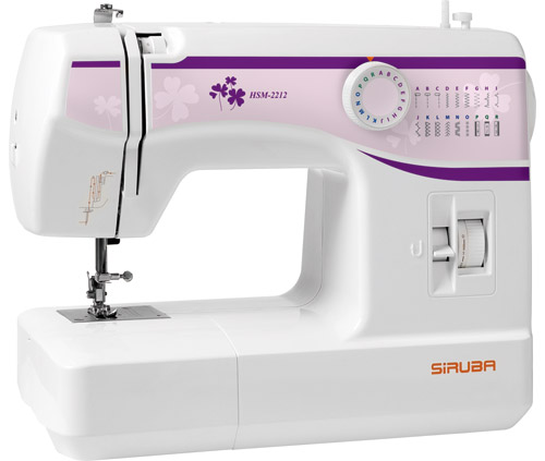SIRUBA HSM-2212Siruba<br>Швейная машина SIRUBA HSM-2212. Вертикальный челнок. 11 строчек. 3 лапки в комплекте.<br>
